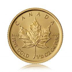 1/10 Unze Gold - Maple Leaf